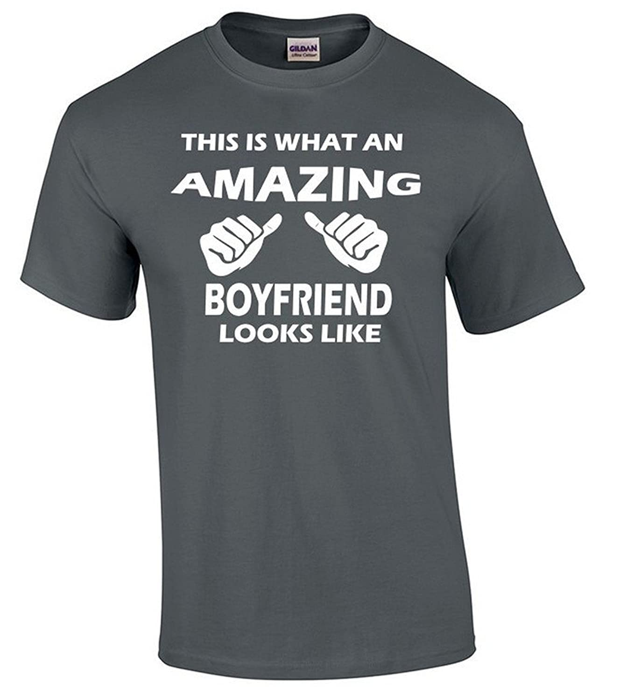 i-Custom World This is What an Amazing Boyfriend Looks Like T-Shirt Best Gift Shirt