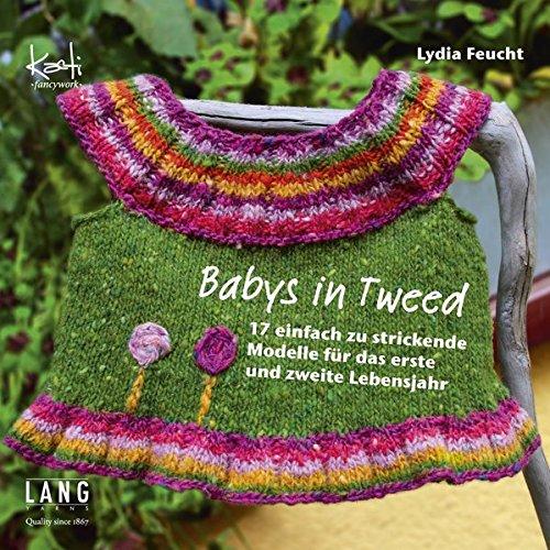 Babys in Tweed: 17 einfach zu strickende Modelle für das erste und zweite Lebensjahr