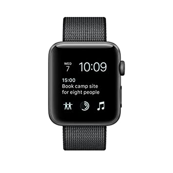 Apple Watch Series 2 OLED GPS (satélite) Gris Reloj Inteligente - Relojes Inteligentes (