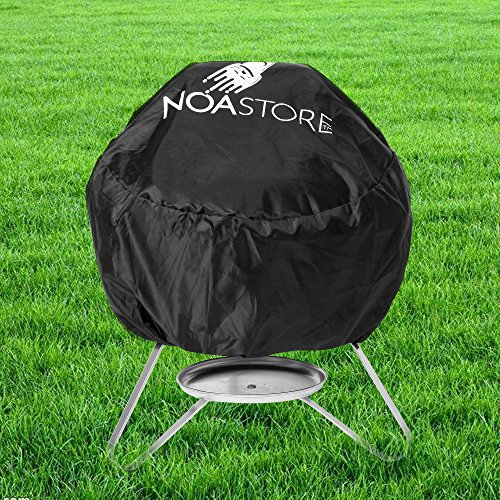Noa Store BBQ Grill Cover w/ drawstring fits Weber Jumbo Joe Gold 18 inches tabletop model