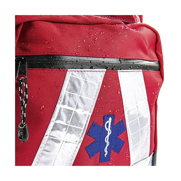 Basic Medical Supply BMS-2S 135228salvavidas Mochila Impermeable, color rojo 1