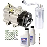OEM AC Compressor w/A/C Repair Kit For Ford Excursion 2000-2005 - BuyAutoParts 60-83209RN New
