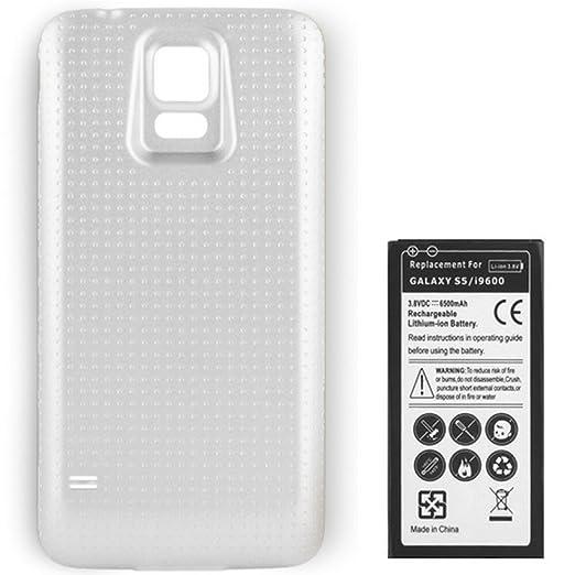 119 opinioni per SMARTEX | Batteria potenziata 6500mAh + cover maggiorata bianca marca Smartex