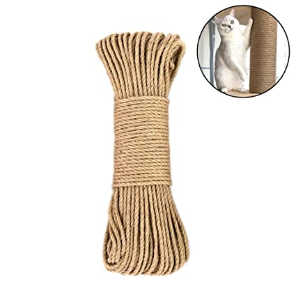 Amazon Com Amakunft Hemp Rope For Cat Tree And Tower Diy Cat