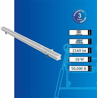 Lámpara de techo empotrable Zeus E – LED Samsung, Luz Cálida, 3000/4000K, IP40, CRI > 80, Clase eficiencia energética A++. (24): Amazon.es: Iluminación