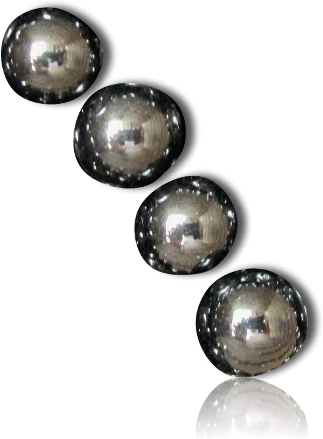 """5 Hand Painted 1//2/"""" Opaque White Glass Fruit Buttons"""