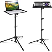 Klvied Projector Tripod Stand, Universal Laptop Tripod Stand, Portable DJ Equipment Stand, Folding Floor Tripod Stand…