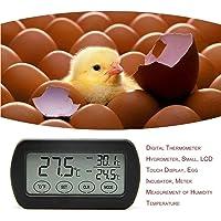 LCD Display Egg Incubator Thermometer Hygrometer Meter of Humidity Temperature