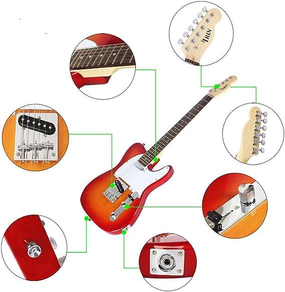 BLKykll Guitarra Eléctrica - R-160 Principiante Estudiante Adulto ...