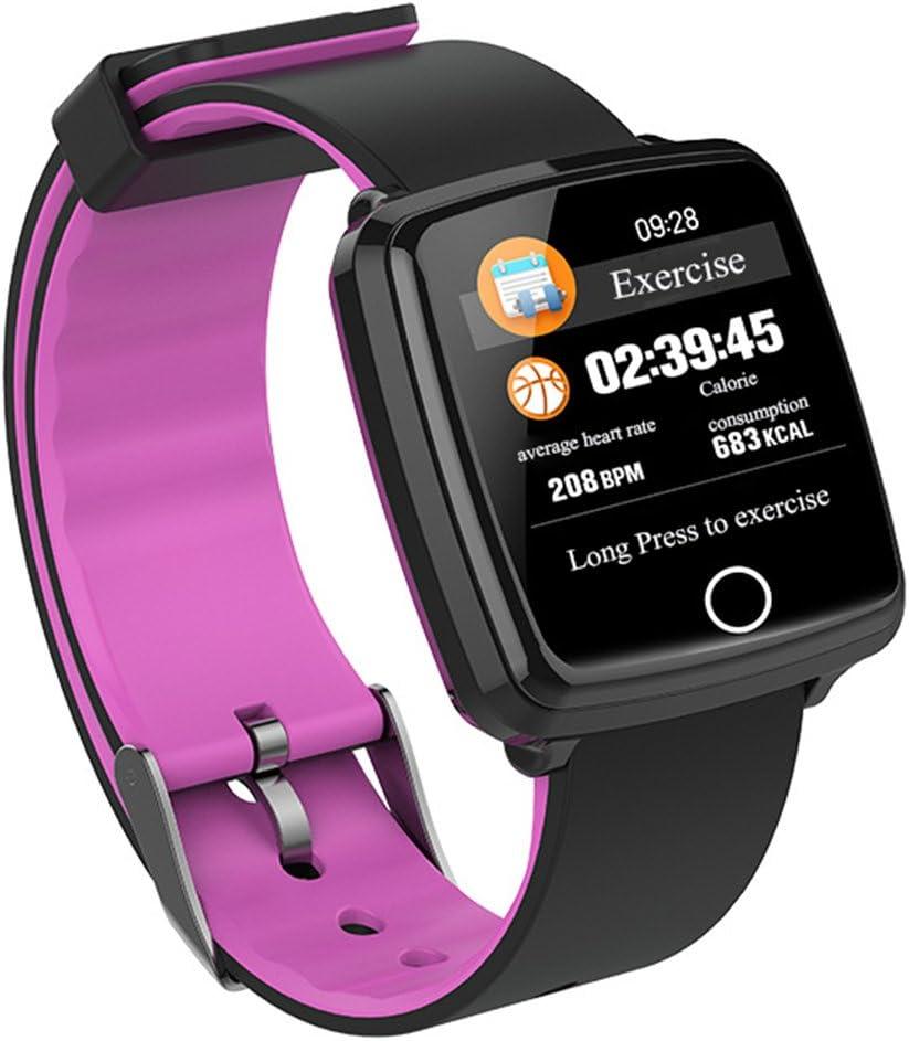 NSHK Inteligente Deportes Pulsera Ritmo Cardíaco Monitor Pulsera Combada Color Pantalla Personalizada Dial Placa Impermeable Reloj De Negocios