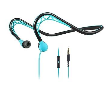 MUCRO- Auriculares de Running con Cable, detrás del Cuello, para ...