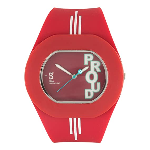 B360 watch Unisex-reloj B PROUD Liverpool de tamaño mediano, 3 barras analógico de