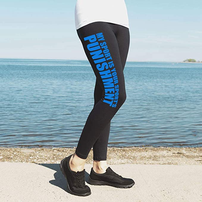 ChalkTalkSPORTS Track High Print Legging My Sport Is Your