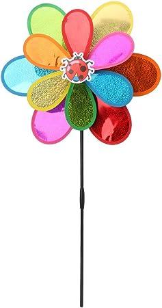 Zeagro - Molinillo de Viento para decoración de jardín, diseño de pájaro: Amazon.es: Hogar