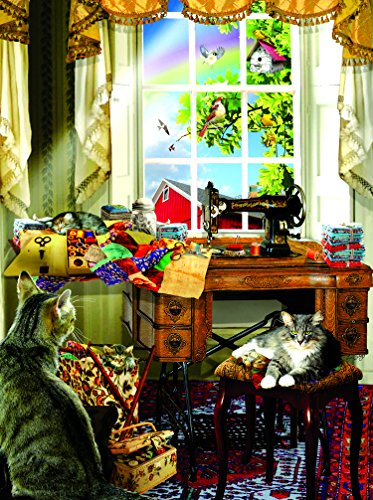 SunsOut The Sewing Room 300 Piece Jigsaw Puzzle