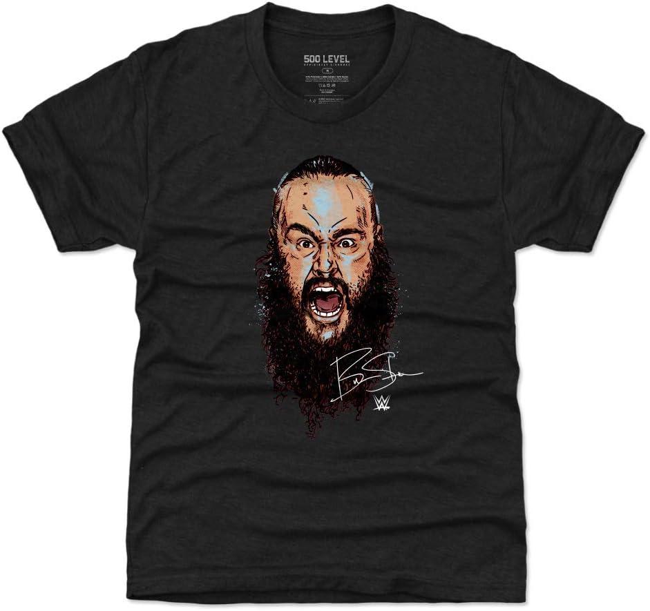 500 LEVEL Braun Strowman Kids Shirt - WWE Boys Clothes - Braun Strowman Scream