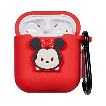 Amazon.com: Logee Cartoon case for Airpods D Minnie Mouse ...
