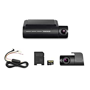Thinkware F800 PRO Dual Dash Cam Front and Rear Full HD 1080P Sony STARVIS Super Night Vision   Hardwire Cable   64GB MicroSD Card Included   Built-in Wi-Fi & GPS   Parking Mode with Impact & Motion