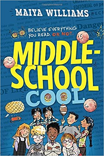 Middle School Cool Maiya Williams 9780385743495 Amazon Com Books