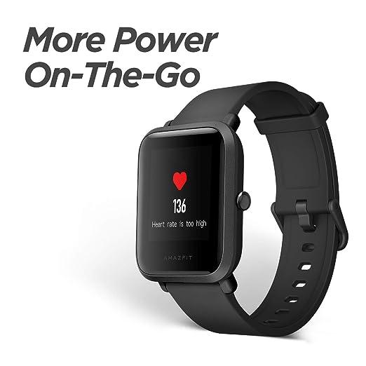 Amazon.com: Reloj inteligente Amazfit BIP de Huami, con ...