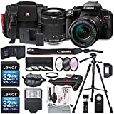 Canon EOS Rebel T7i DSLR Camera with EF-S 18-135mm f/3.5-5.6 IS STM Lens and 2 X 32GB, Variety of Filters, Tripods, Flash, Remote, SD Reader/Writer, Xpix Lens Accessory Kit
