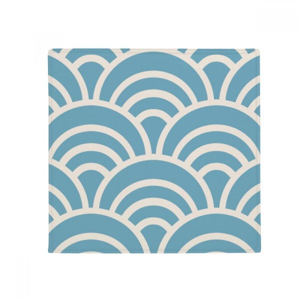 DIYthinker Pattern Wave Japanese Traditional Edo Anti-Slip Floor Pet Mat Square Home Kitchen Door 80Cm Gift