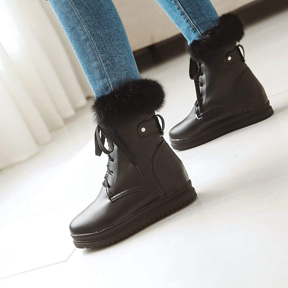 QINGMM QINGMM QINGMM Frauen Plattform Baumwolle Stiefel 2018 Herbst Winter Plüsch Schnee Stiefel 40-43 Große Größe,Schwarz,39 EU B07JMNNVM6 Sport- & Outdoorschuhe Bekannt für seine hervorragende Qualität cb56f9