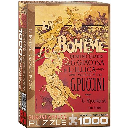 EuroGraphics La La La Boheme (Puccini) 1000 Piece Puzzle 8931d1
