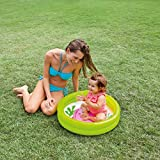 Yeefant Small Baby Toddler Two Ring Swimming Paddling Marine Ball Pool Child Mini Inflatable Kid, Random, 24 Inch
