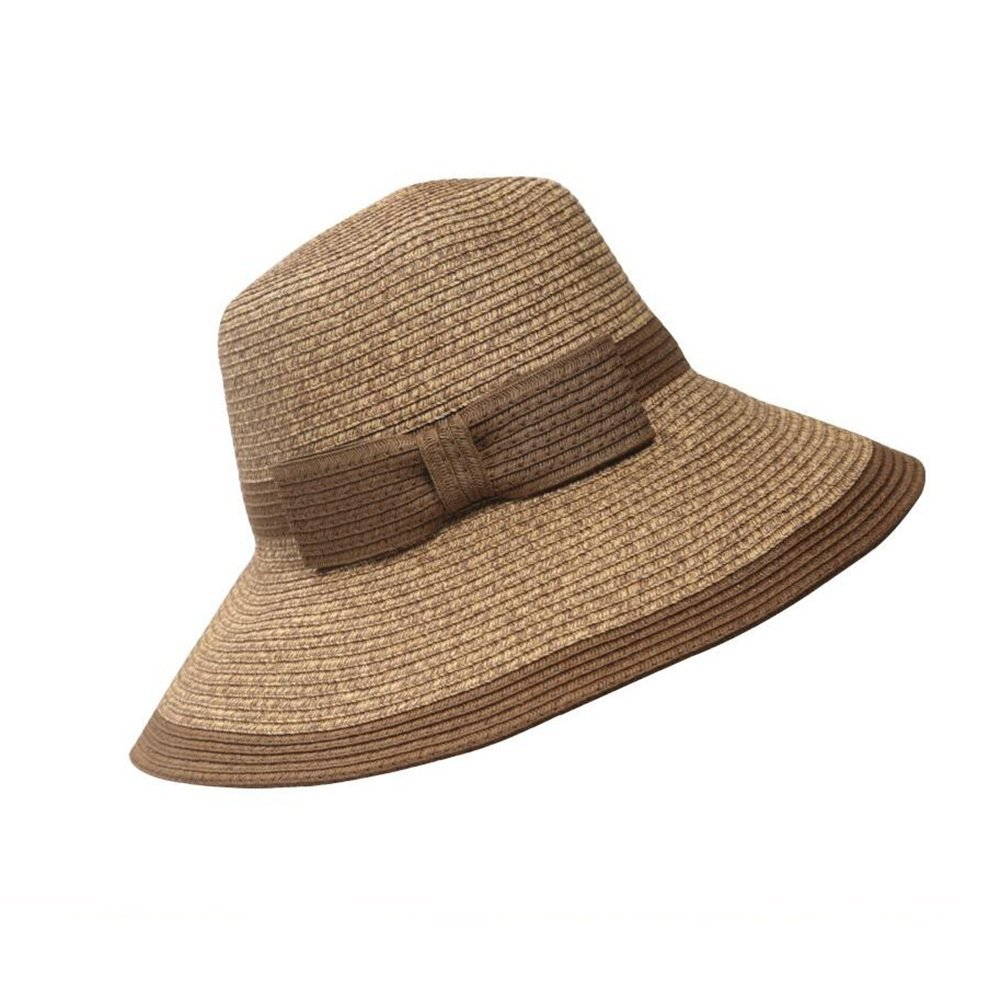 D SUNNY Women's Straw Hat Shade Sunhat Summer Foldable Seaside Beach Hat Sun Hat (color   Pink)