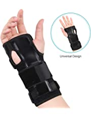 832d88c303 Wrist Support Carpal Tunnel, Wrist Splint Brace Wrist Palm Hand Protector  with Removable Splint Stabilizer