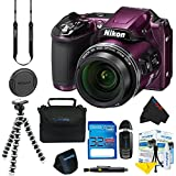 Nikon COOLPIX L840 Digital Camera (Purple) + Pixi-Basic Accessory Kit