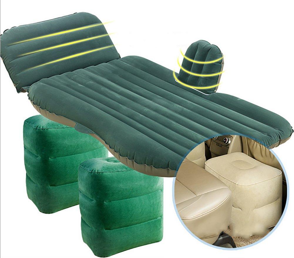 BMDHA Auto Matratze Aufblasbares Doppelbett Komfortable Atmungsaktiv Coole Stoff Unabhängige Kann Mobile Footpad (SUV Und Auto Universal)