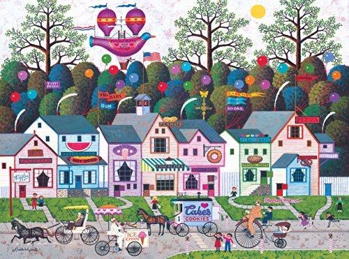 Más asequible Buffalo Juegos Juegos Juegos Charles Wysocki  Confection Street - 1000 Piece Jigsaw Puzzle by Buffalo Juegos by Buffalo Juegos  comprar marca