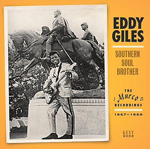 CD : Eddie Giles - Southern Soul Brother (CD)