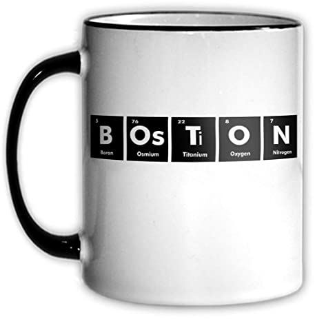 Amazon Boston Periodic Table Coffee Tea Mug With Chemical