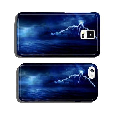 Amazoncom Sea Storm Lightning Ocean Wallpaper Background