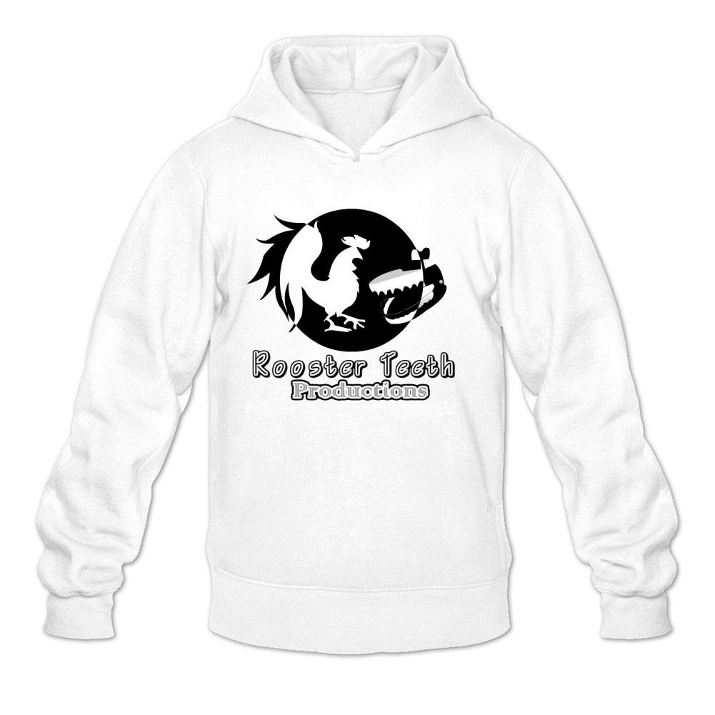 5482831a4f1a Custom Rooster Teeth Comedy Game Men s Printed Sweatshirt Pullover Hoodie   Amazon.com  Books