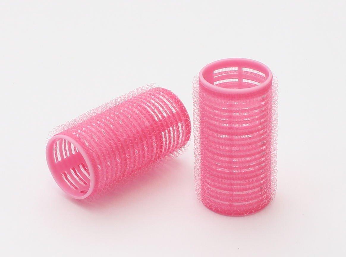 ゆるふわ巻き髪に巻けるピンク色のマジックカーラー
