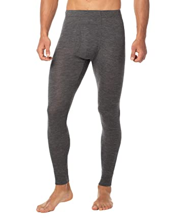 5bc844a87a0e4e LAPASA Men's 100% Merino Wool Thermal Underwear Pants Long John Leggings Base  Layer Bottom M30
