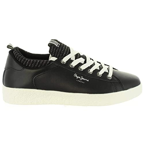 Zapatillas PEPE JEANS PLS30780 Roxy Sock 999BLACK: Amazon.es: Zapatos y complementos