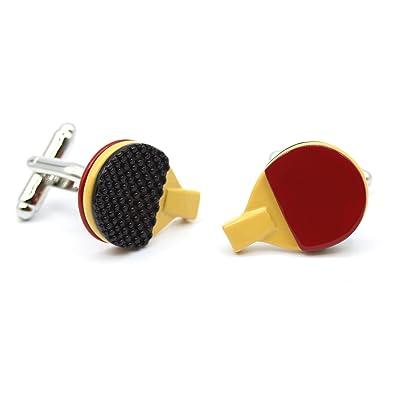 Gemelos de Camisa Originales Ping Pong. Diseño Deportivo de ...