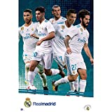 Grupo Erik editores gpe5180 – Poster 2017/2018 with Real Madrid Design, 61 cm x 91.5 cm
