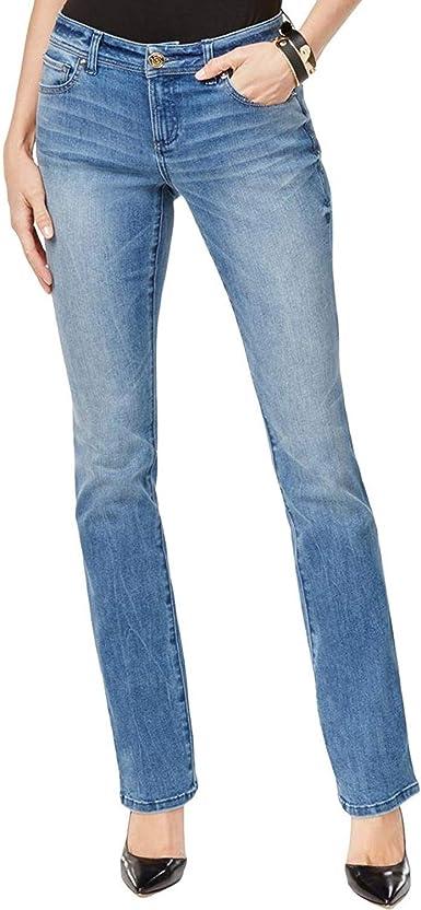 Amazon Com Inc Denim Pantalones Vaqueros Para Mujer Con Ajuste Curvado Para Botas Y Piernas Clothing