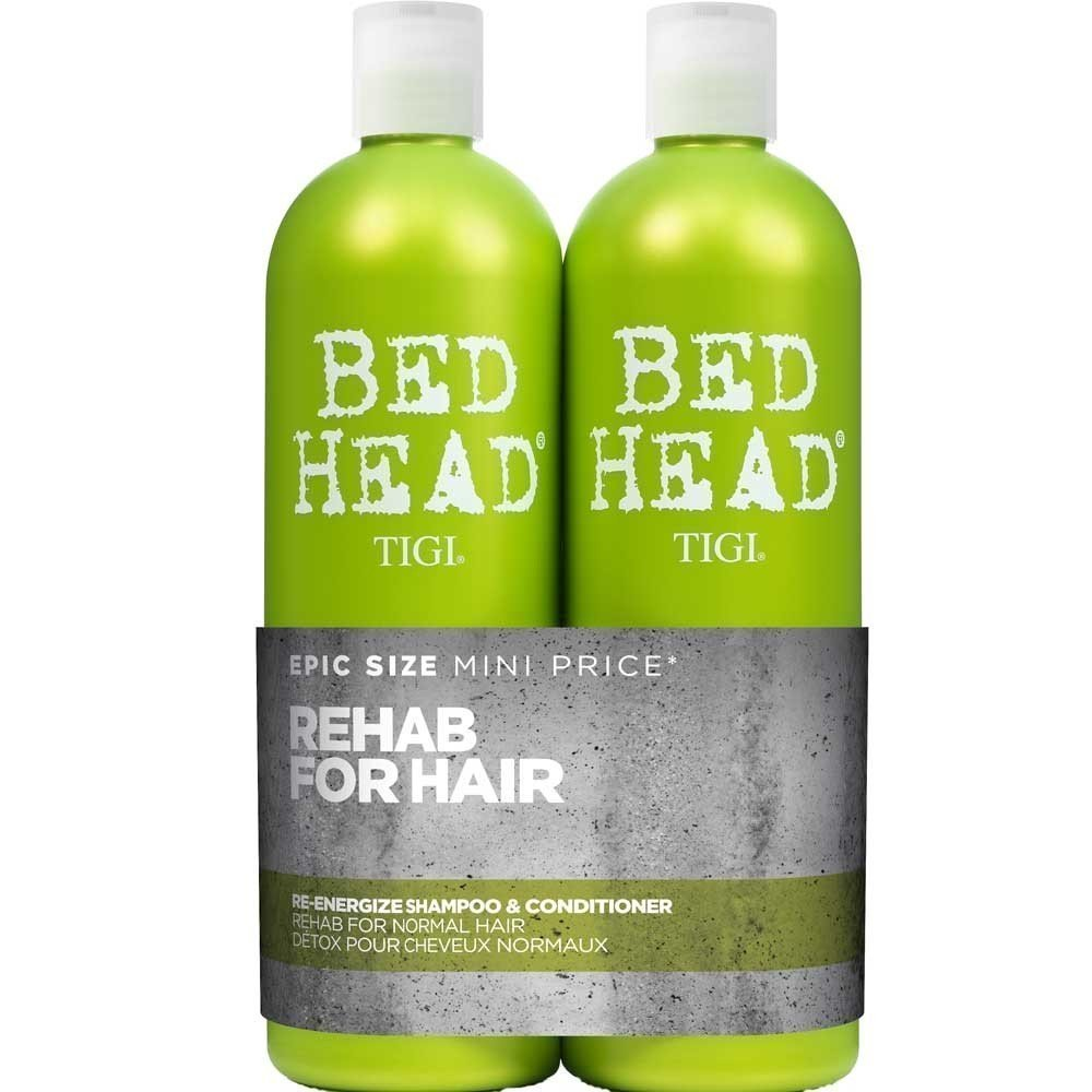 TIGI - BedHead Urban anti+dotes Level 1 - Re-Energize Shampoo & Conditioner Tween Duo 2x 750ml Uk