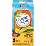 Crystal Light Drink Mix, Lemon Iced Tea, On The Go Packets, 10 Count (Pack of 6 Boxes)