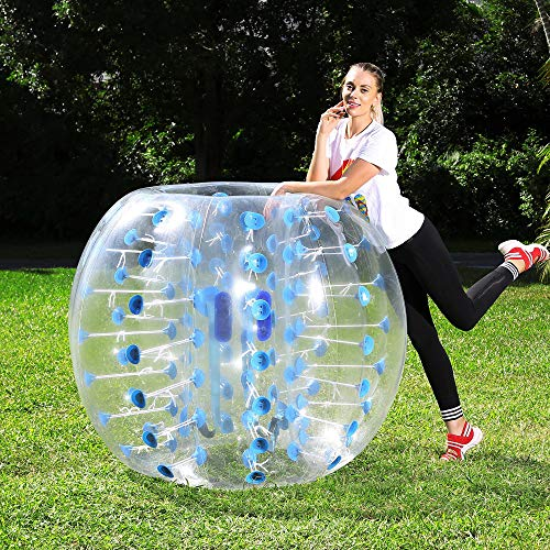 Inflatable Lightweight Ball - Human Hamster Ball Kids Adults, Bubble Ball, Inflatable Bumper Balls for Adults, Bubble Soccer, Hamster Ball for Human, Body Bumper