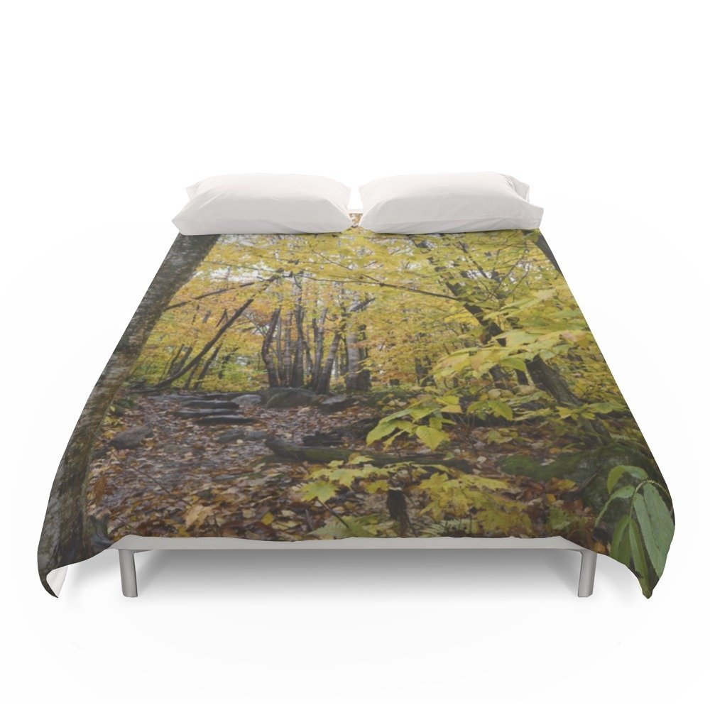 Society6 Woods 3 Duvet Covers Full: 79'' x 79''