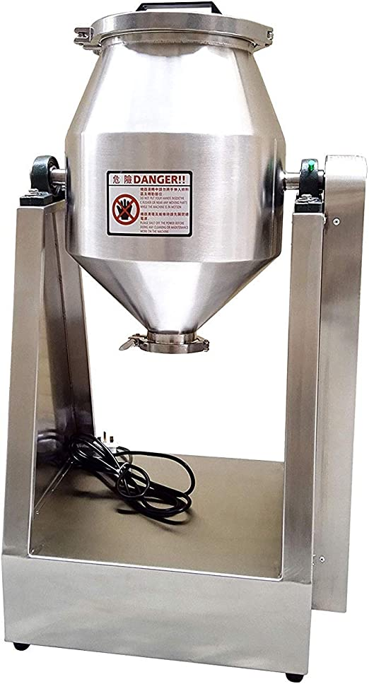 MXBAOHENG yg-8kg Polvo de Laboratorio Mezclador batidora de ...