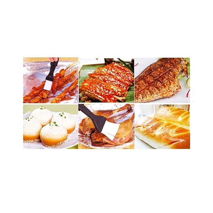 HUPLUE - 2 cepillos de Aceite para Barbacoa o Barbacoa para Asar y marinar Utensilios de Cocina, postres y Herramientas de horneado: Amazon.es: Hogar